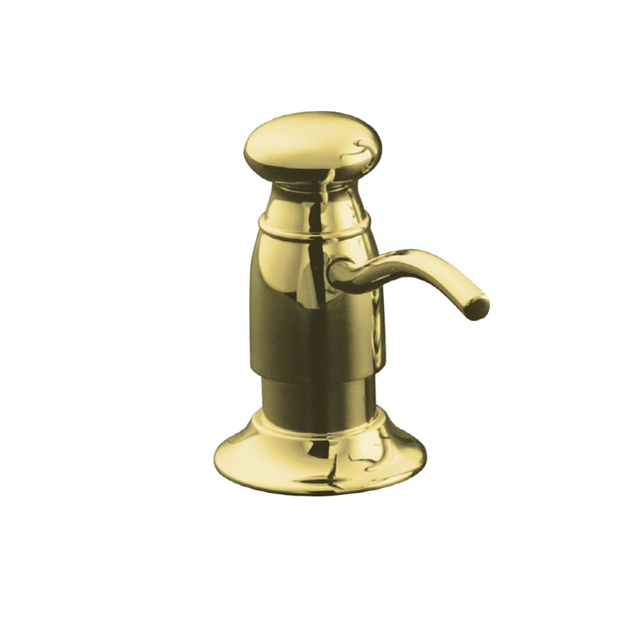 KOHLER Vibrant Polished Brass Soap and Lotion Dispenser