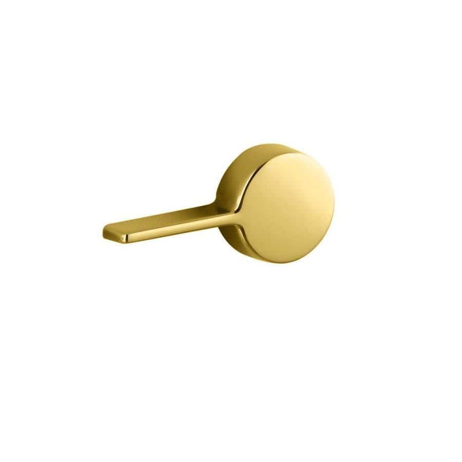 KOHLER Vibrant Polished Brass Toilet Handle