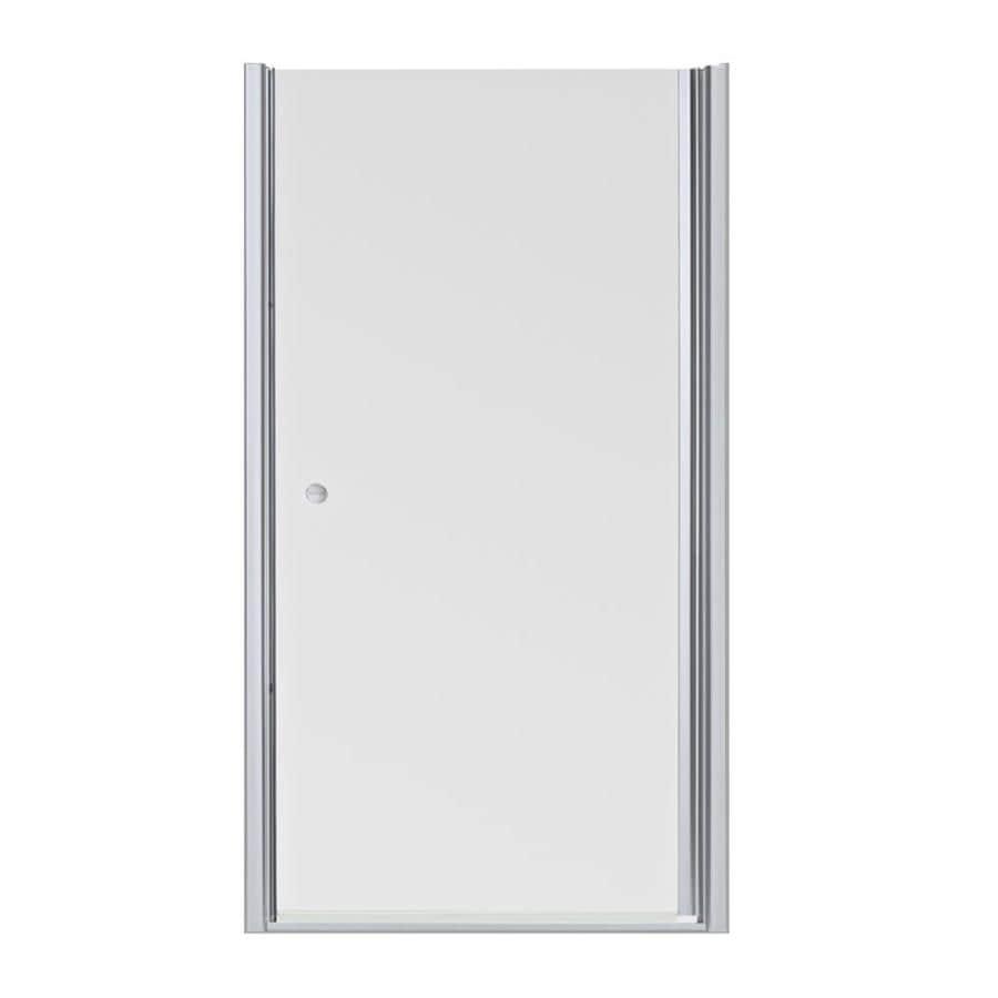 Shop Kohler Fluence 30 In To 315 In Frameless Pivot Shower Door At