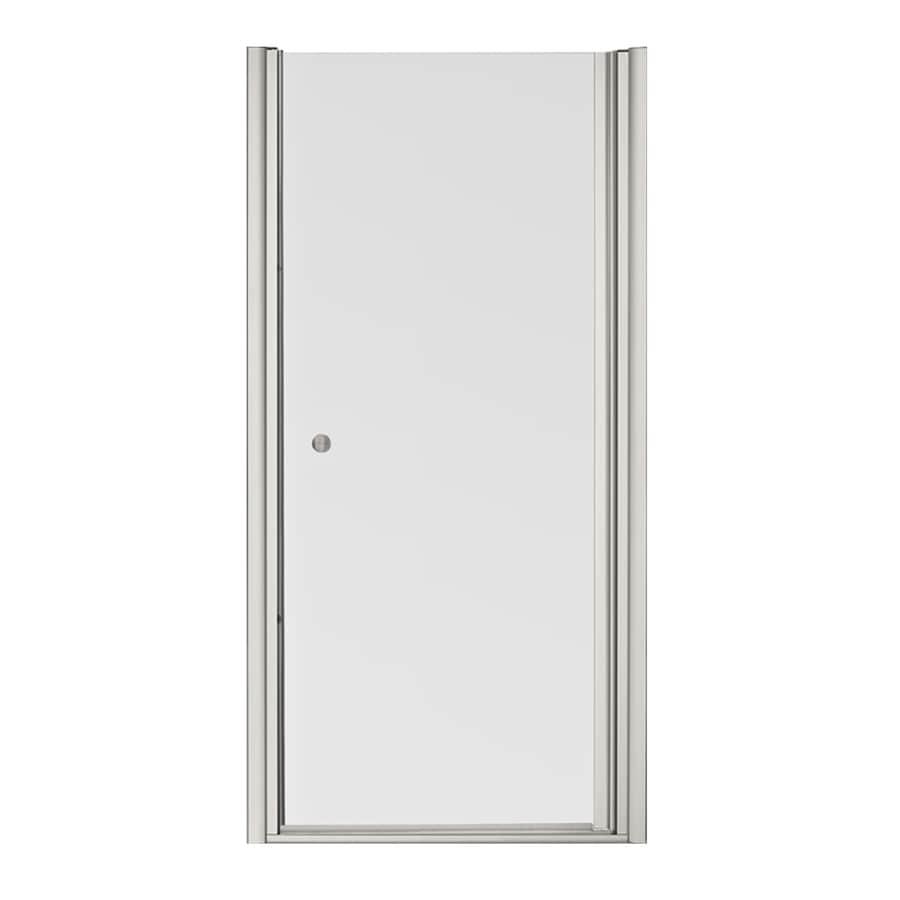 KOHLER Fluence 32.5-in to 34-in Frameless Pivot Shower Door