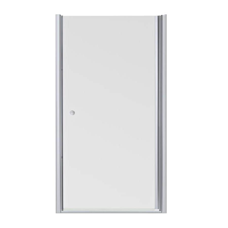KOHLER 35-in to 36-1/2-in Frameless Pivot Shower Door