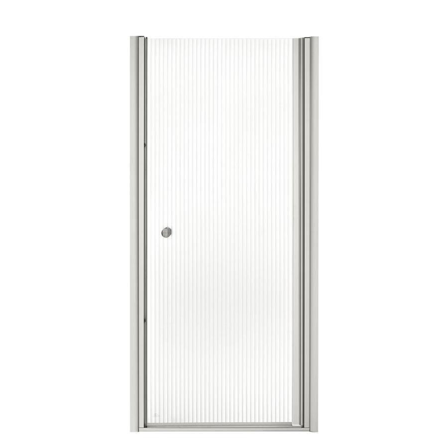 KOHLER Fluence 30-in to 31.5-in Frameless Pivot Shower Door