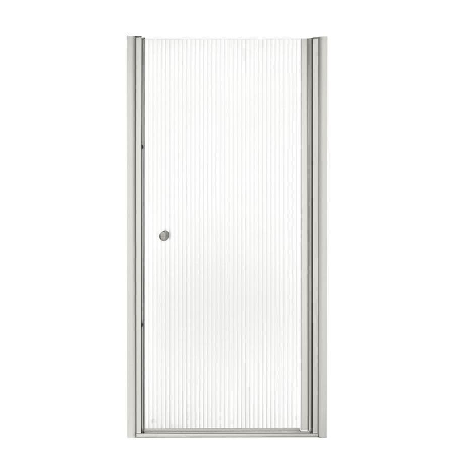 KOHLER Fluence 31.25-in to 32.75-in Frameless Pivot Shower Door