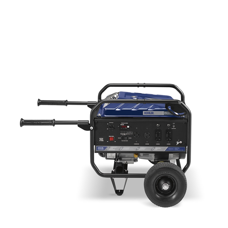 KOHLER Pro37E 3,000-Running-Watt Portable Generator with Kohler Engine
