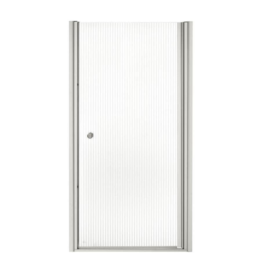 KOHLER Fluence 33.75-in to 35.25-in Frameless Pivot Shower Door