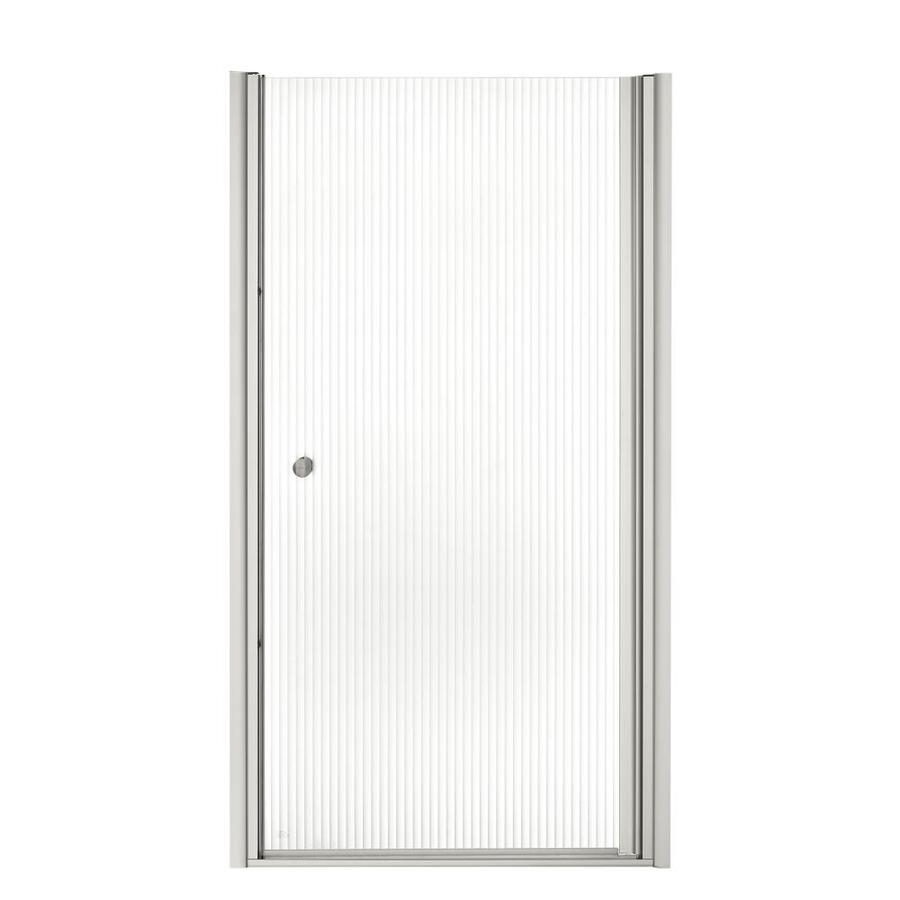 KOHLER Fluence 35-in to 36.5-in Frameless Pivot Shower Door