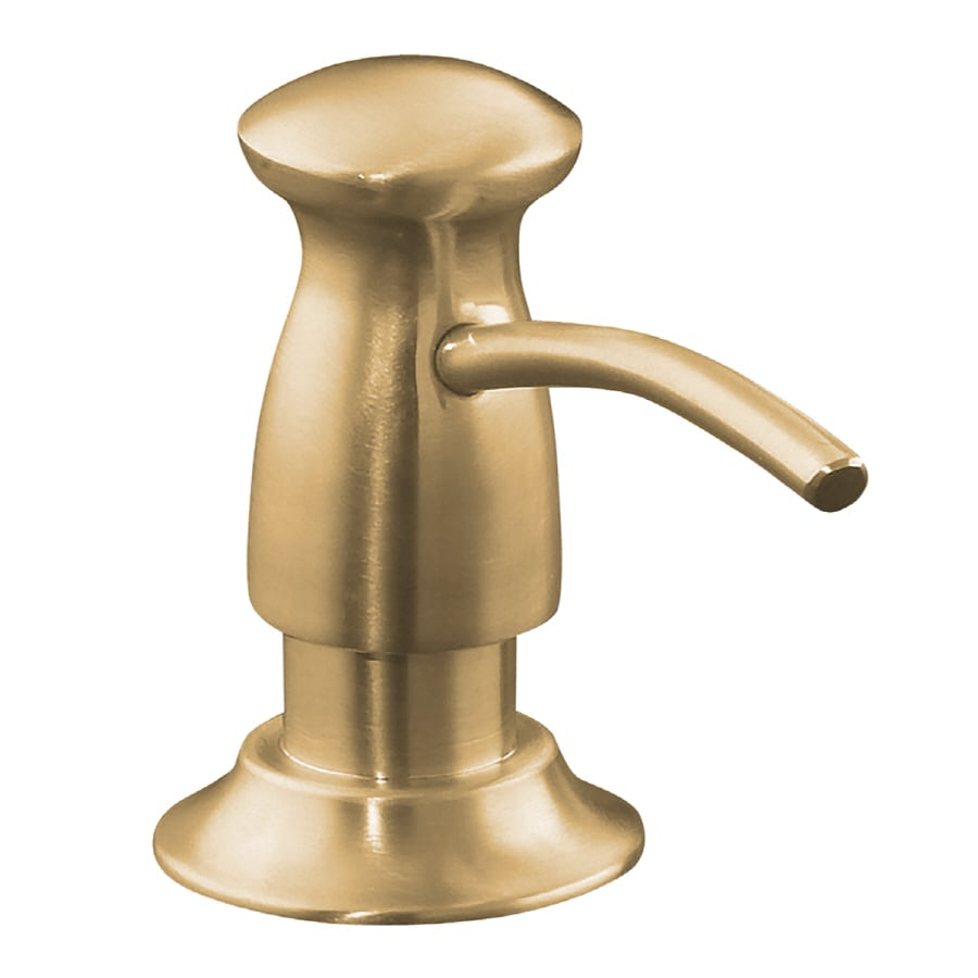 KOHLER Vibrant Brushed Bronze Soap and Lotion Dispenser