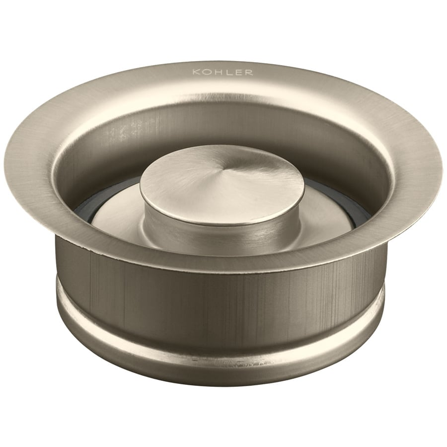 KOHLER 4.4375-in Vibrant Brushed Bronze Garbage Disposal Sink Flange
