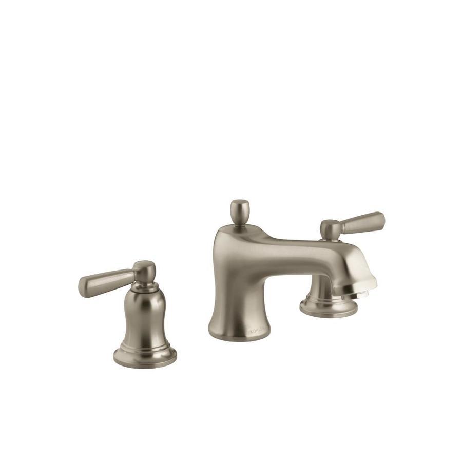 Shop Kohler Bancroft Vibrant Brushed Bronze 2 Handle Deck
