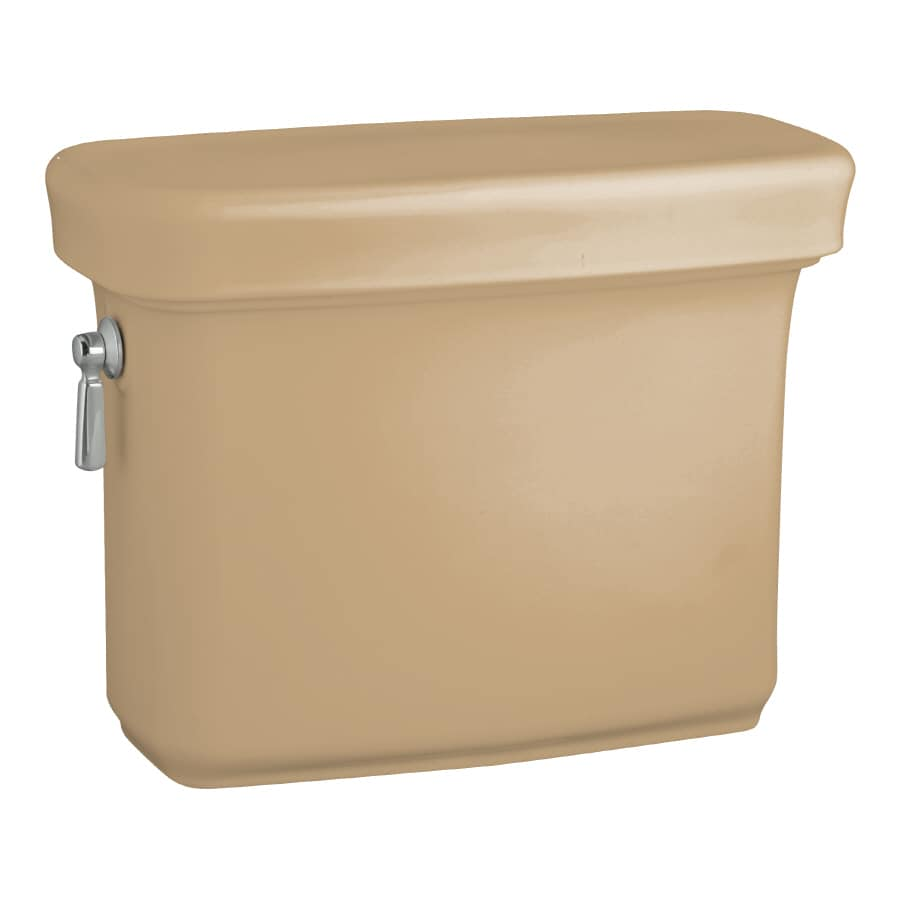 KOHLER Bancroft Mexican Sand 1.6-GPF (6.06-LPF) 12-in Rough-In Single-Flush Toilet Tank