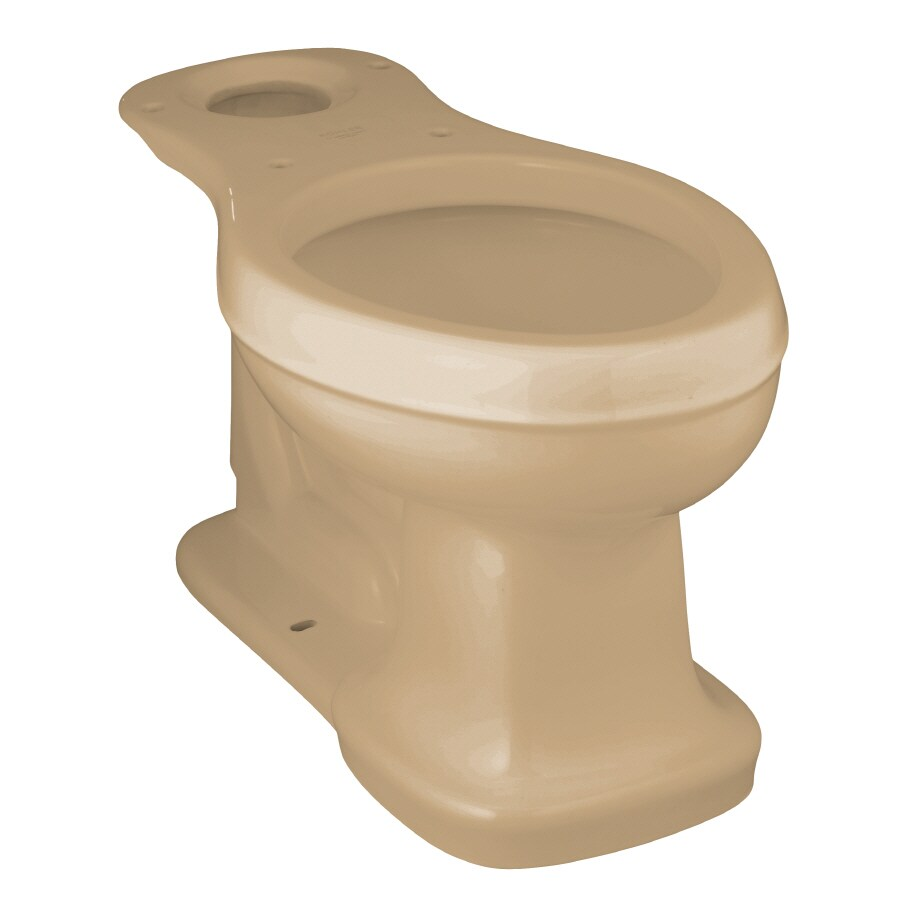 KOHLER Bancroft Chair Height Mexican Sand 12-in Rough-In Elongated Toilet Bowl