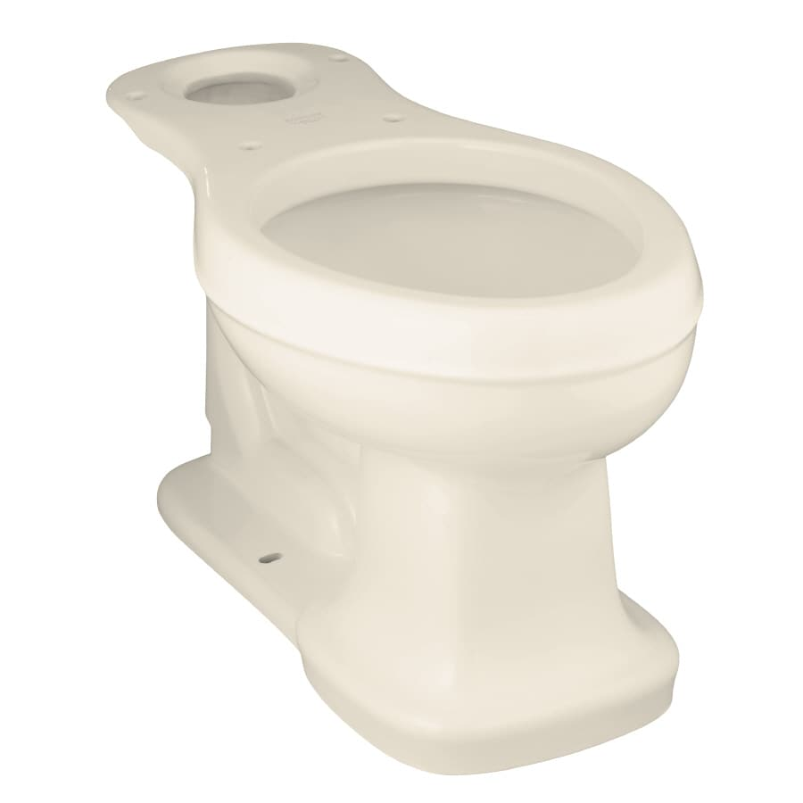 KOHLER Bancroft Chair Height Almond 12-in Rough-In Elongated Toilet Bowl