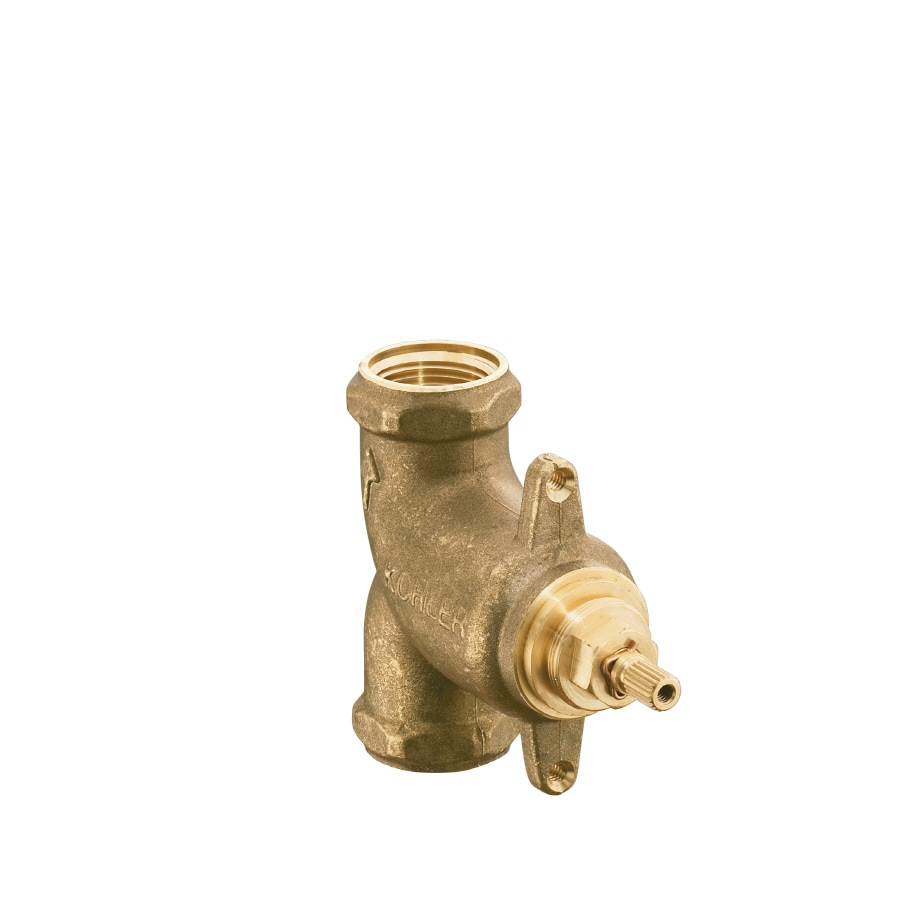 kohler brass 34in female volume control shower valve