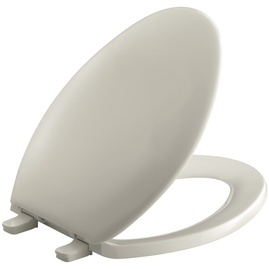 KOHLER Bancroft Plastic Elongated Toilet Seat