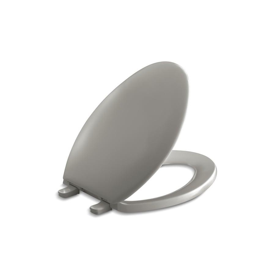 KOHLER Bancroft Cashmere Plastic Elongated Toilet Seat