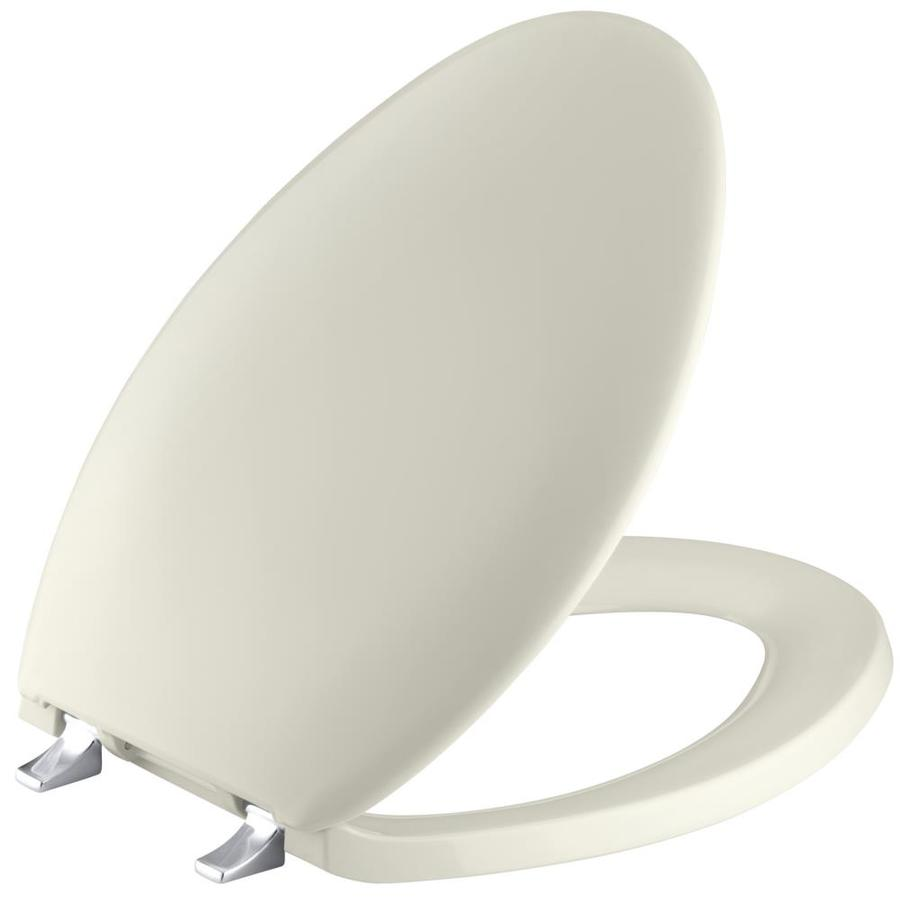 KOHLER Bancroft Plastic Elongated Toilet Seat