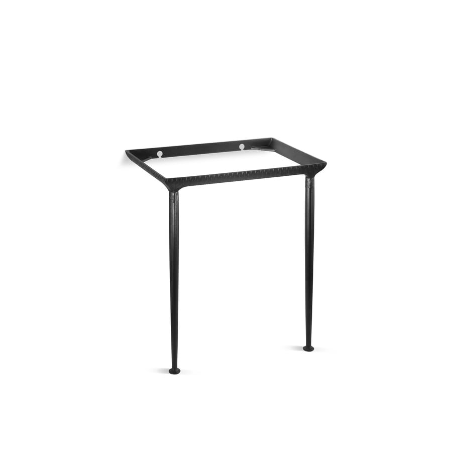 Kohler Iron Black Bathroom Vanity Legs At Lowes Com