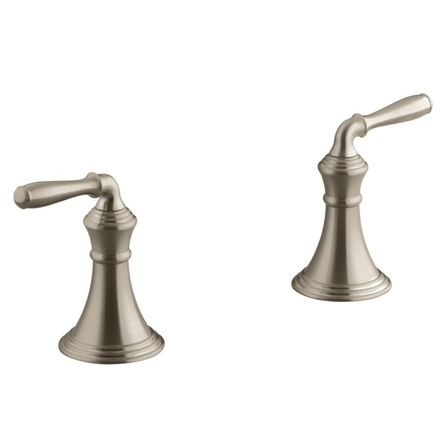 KOHLER 2-Pack Stainless Steel Bathtub/Shower Handle