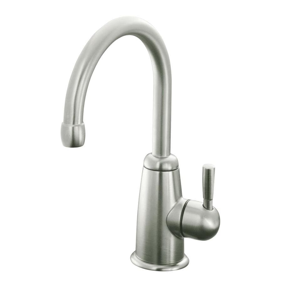 KOHLER Wellspring Vibrant Stainless 1-Handle-Handle Bar and Prep Faucet
