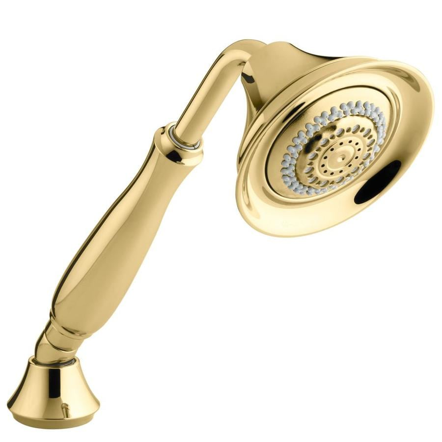 KOHLER Forte Vibrant Polished Brass 4-Spray Shower Head
