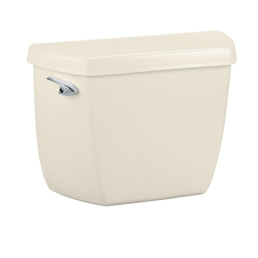 KOHLER Wellworth Almond 1.4-GPF Single-Flush Toilet Tank