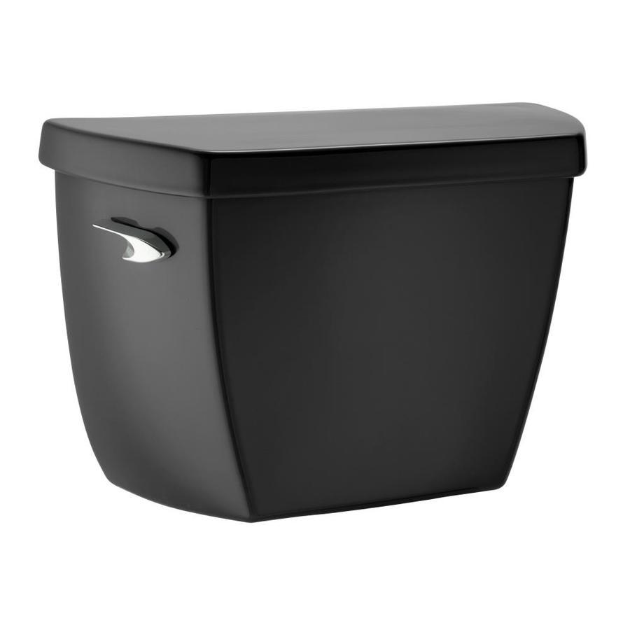 KOHLER Wellworth Black 1.4-GPF Single-Flush Toilet Tank