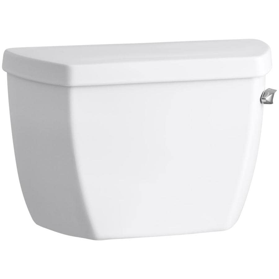 KOHLER Highline White 1.4-GPF Single-Flush Toilet Tank