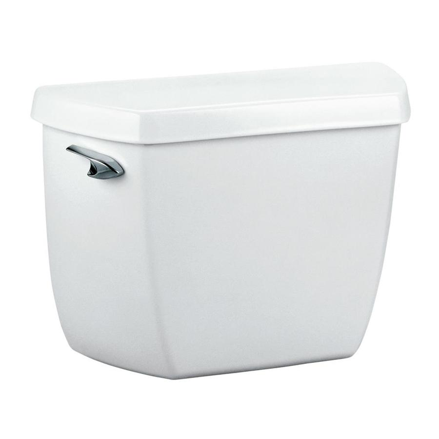 KOHLER Wellworth White 1.4-GPF (5.3-LPF) 12-in Rough-In Pressure Assist Single-Flush Toilet Tank