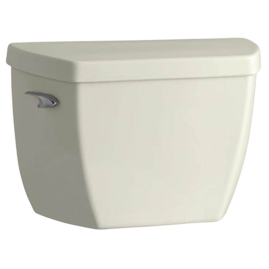 KOHLER Highline Biscuit 1.6-GPF Single-Flush High-Efficiency Toilet Tank