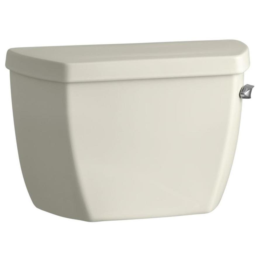 KOHLER Highline Biscuit 1.6-GPF (6.06-LPF) 12 Rough-In Single-Flush High-Efficiency Toilet Tank