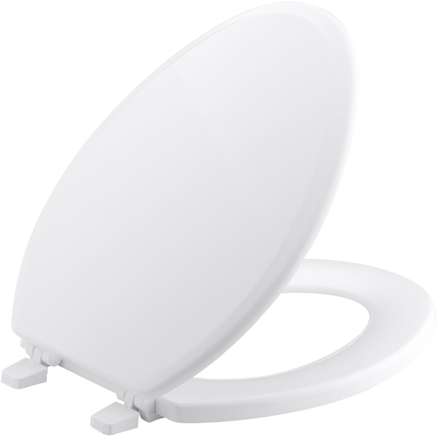 Shop KOHLER Ridgewood Wood Toilet Seat at Lowescom