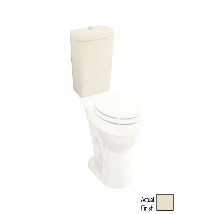 Shop Sterling Karsten Biscuit 1 6 GPF Dual Flush High Efficiency Toilet Tank