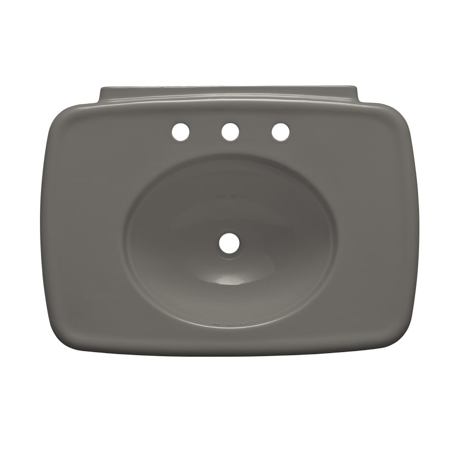 KOHLER 30.38-in L x 22.25-in W Cashmere Fire Clay Pedestal Sink Top