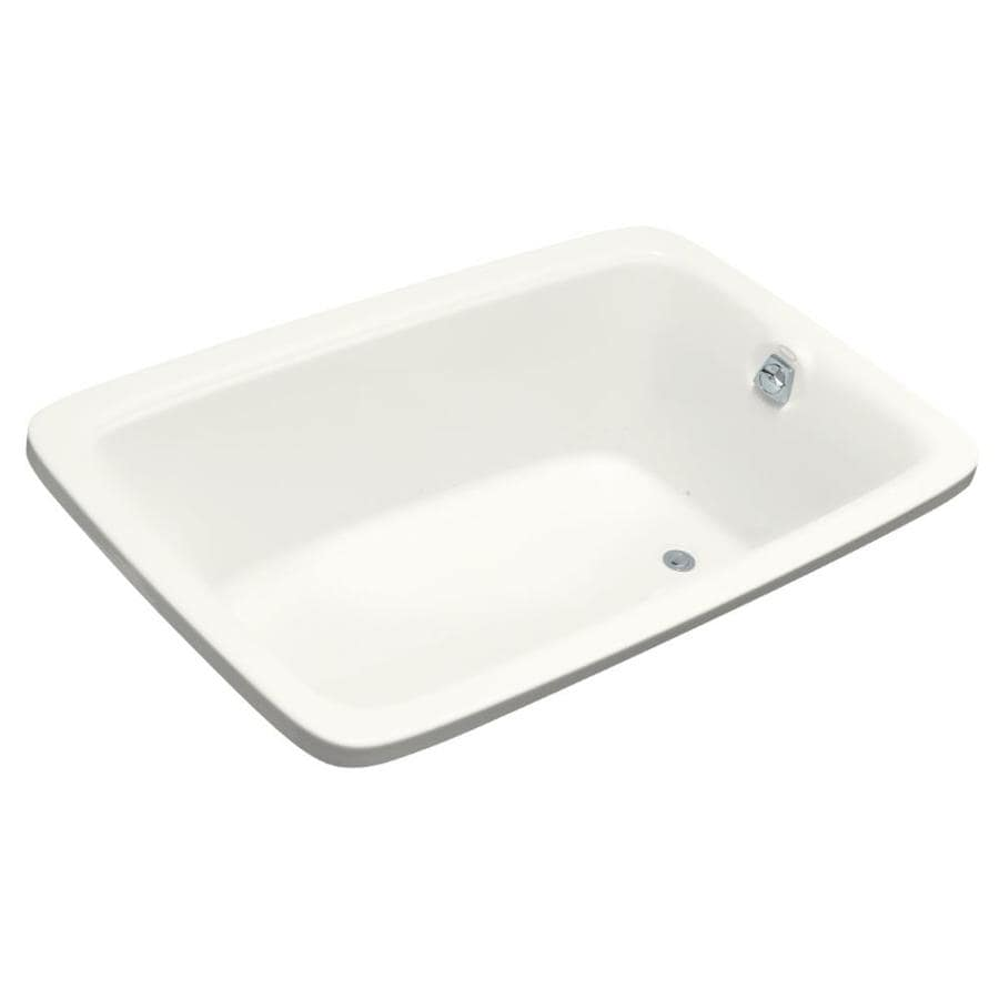 KOHLER Bancroft 66-in L x 42-in W x 22-in H Acrylic Rectangular Drop-in Air Bath