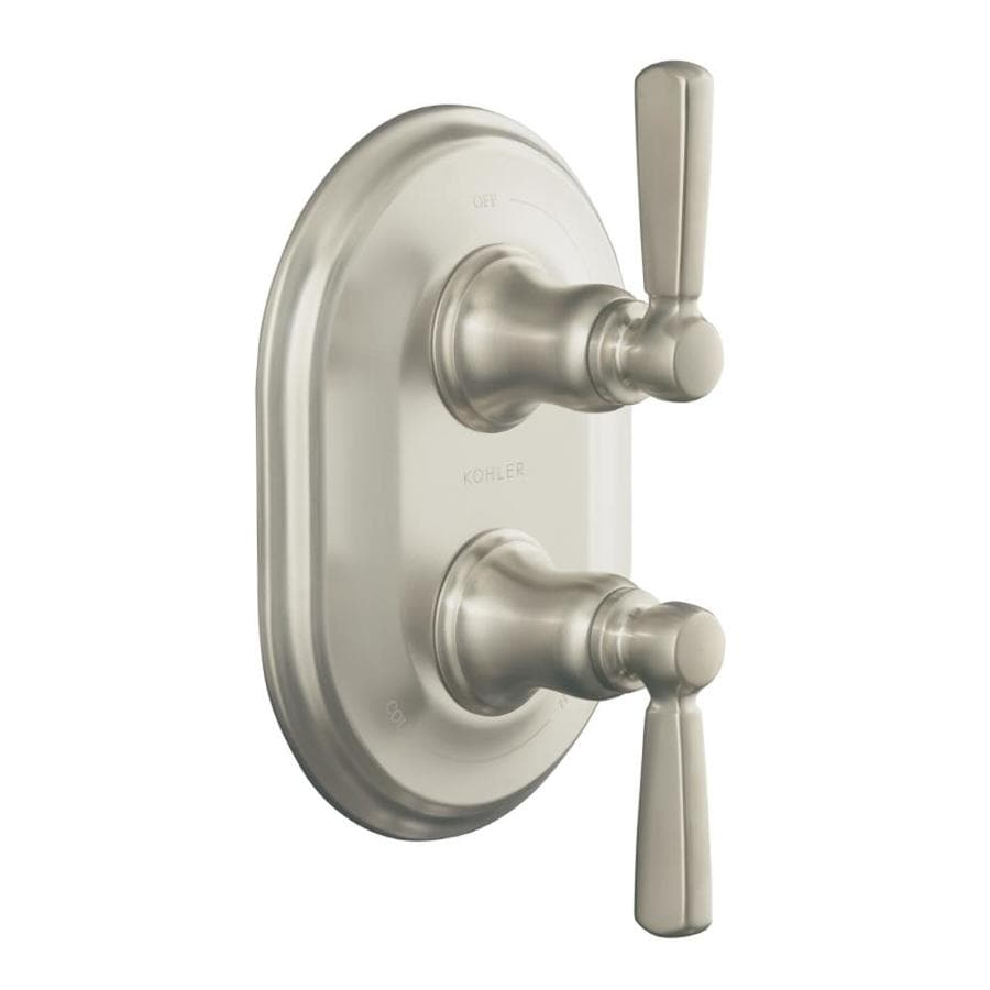 Bathroom Shower Knobs: Shop KOHLER Nickel Bathtub/Shower Handle At Lowes.com