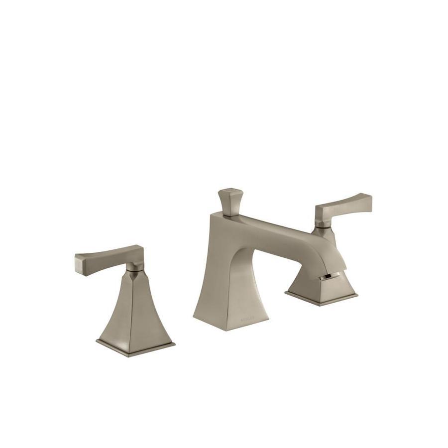 KOHLER Memoirs Vibrant Brushed Bronze 2-Handle Fixed Deck Mount Bathtub Faucet