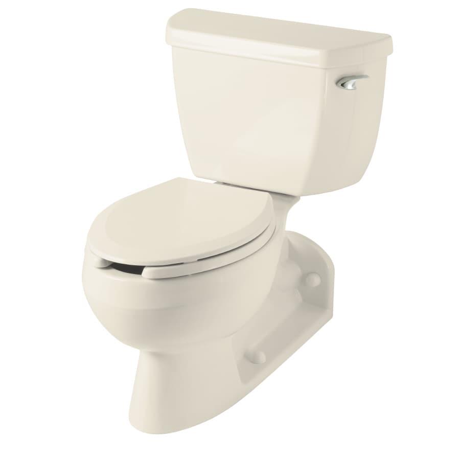 shop kohler barrington almond elongated standard height 2 piece toilet 4 in rough in size at. Black Bedroom Furniture Sets. Home Design Ideas