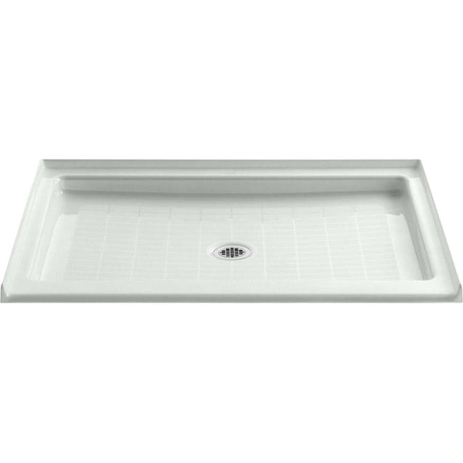 KOHLER Purist Sea Salt Cast Iron Shower Base (Common: 36-in W x 48-in L; Actual: 36-in W x 48-in L)