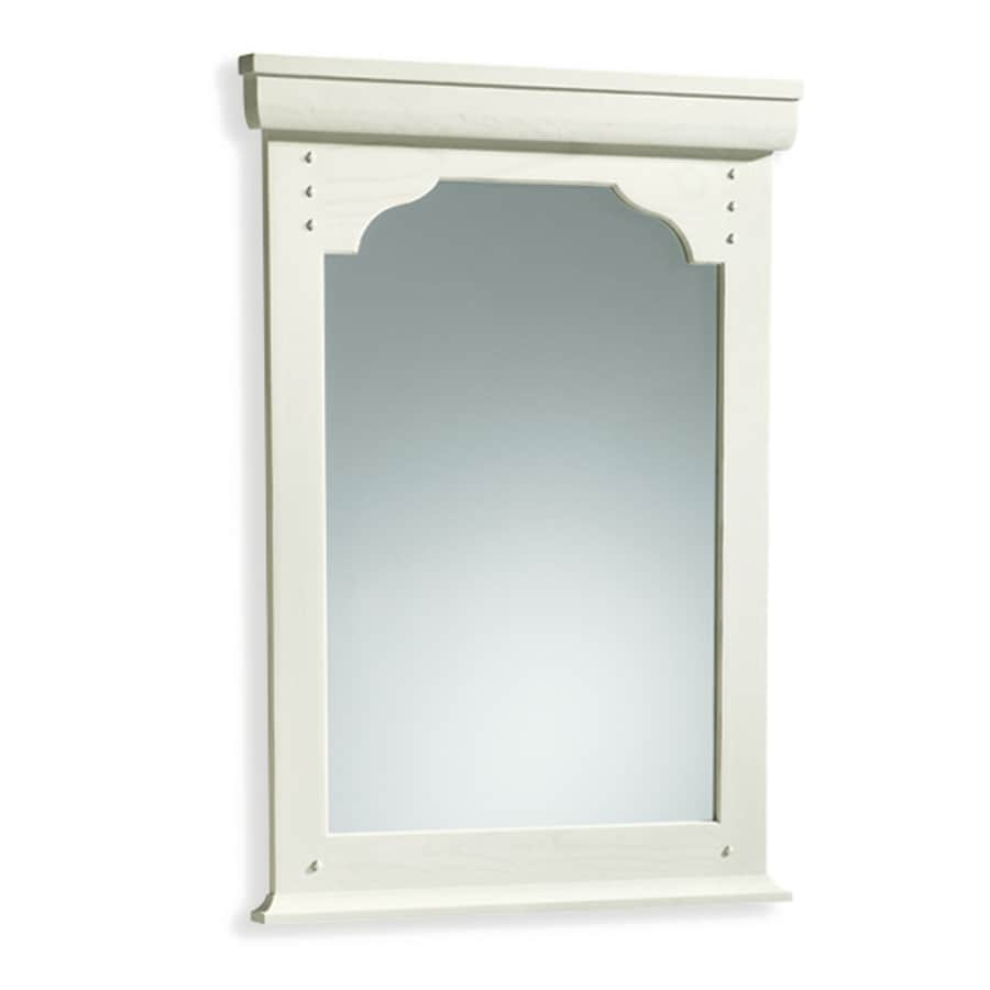 shop kohler ballard 36 in h x 26 in w seashell rectangular 13382