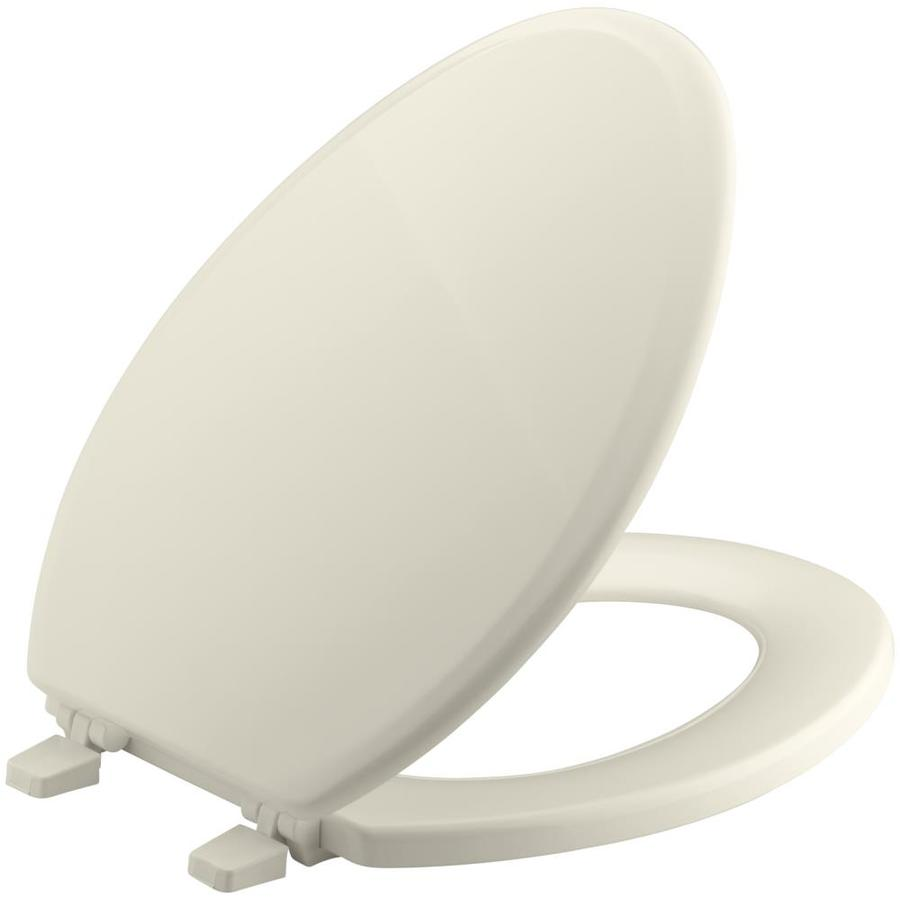 Kohler Ridgewood Wood Elongated Toilet Seat At Lowes Com