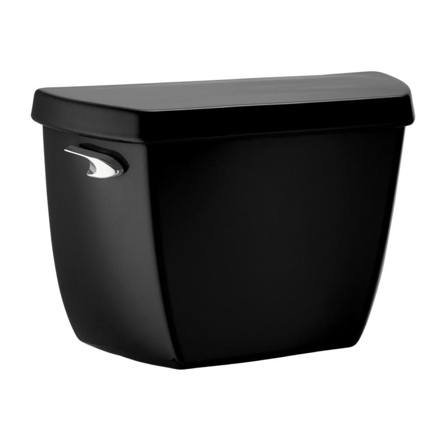 KOHLER Highline Black Black 1.0-GPF Single-Flush High-Efficiency Toilet Tank