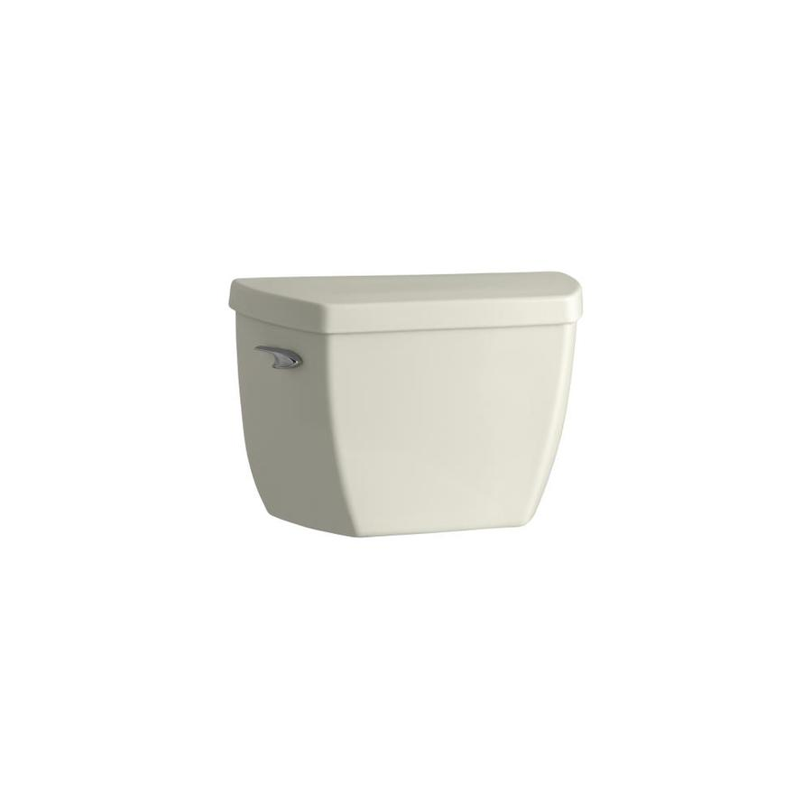 KOHLER Highline Biscuit 1.0-GPF Single-Flush High-Efficiency Toilet Tank