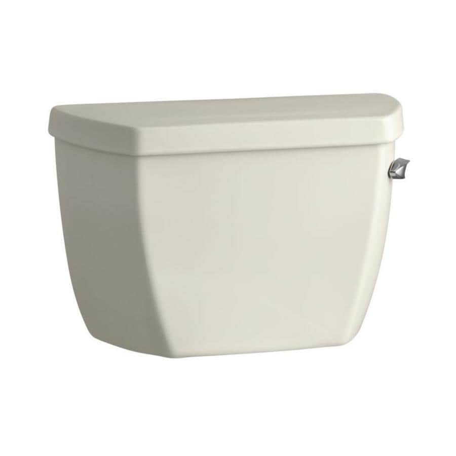 KOHLER Highline Classic Biscuit 1.0-GPF (3.79-LPF) 12 Rough-In Single-Flush Toilet Tank