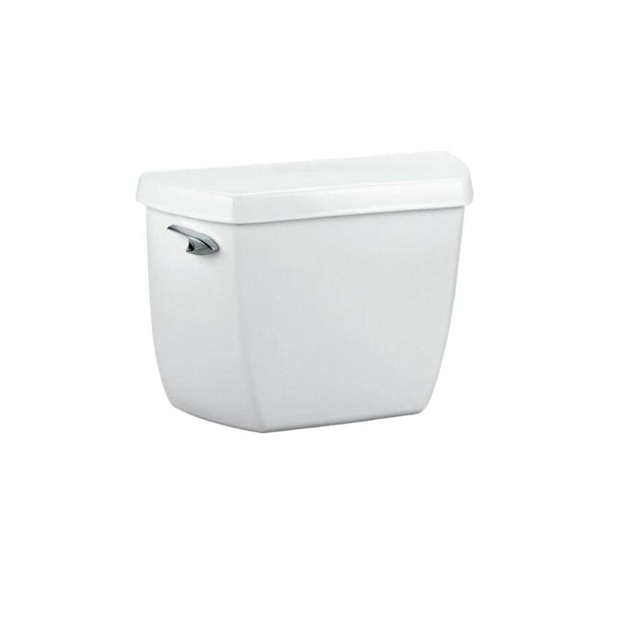 KOHLER Highline White 1.0-GPF Single-Flush High-Efficiency Toilet Tank