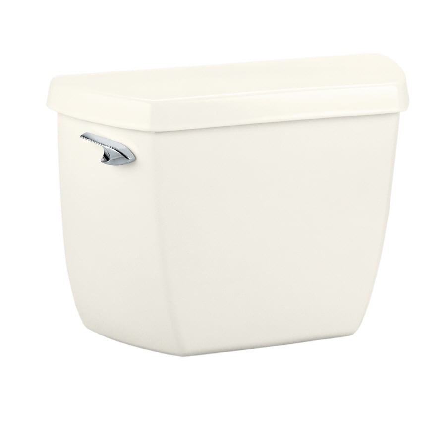 KOHLER Highline Classic Biscuit 1.0-GPF (3.79-LPF) 12 Rough-In Single-Flush High-Efficiency Toilet Tank