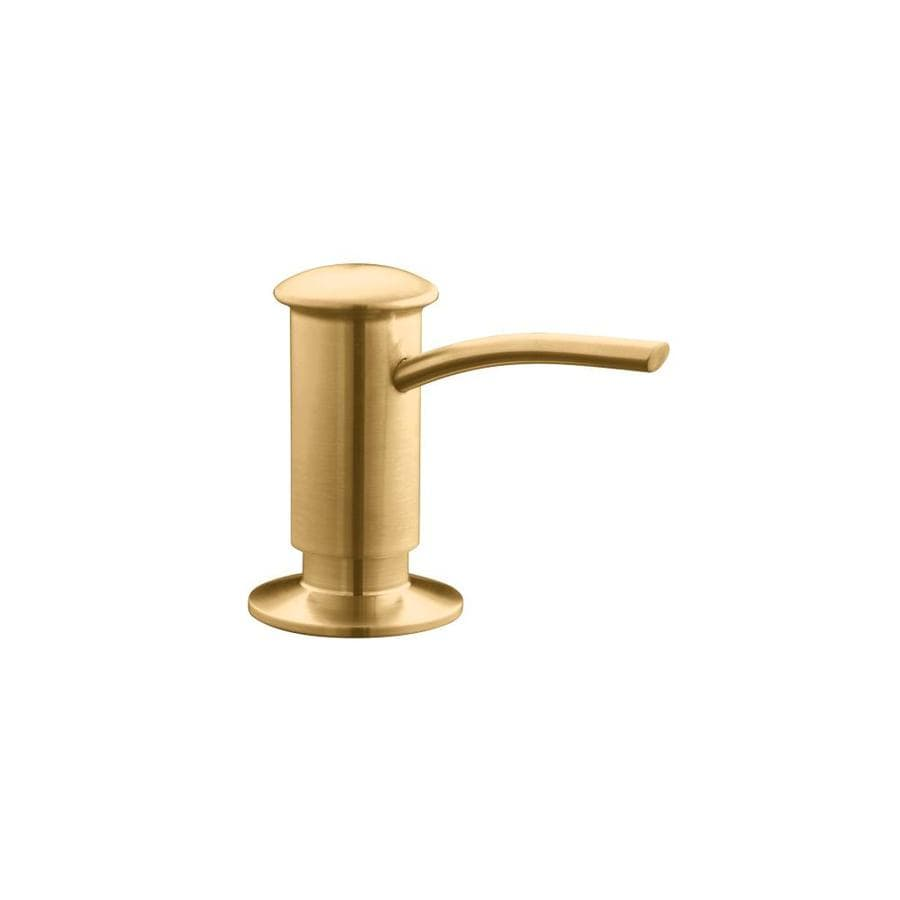 KOHLER Vibrant Brushed Bronze Soap and Lotion Dispenser
