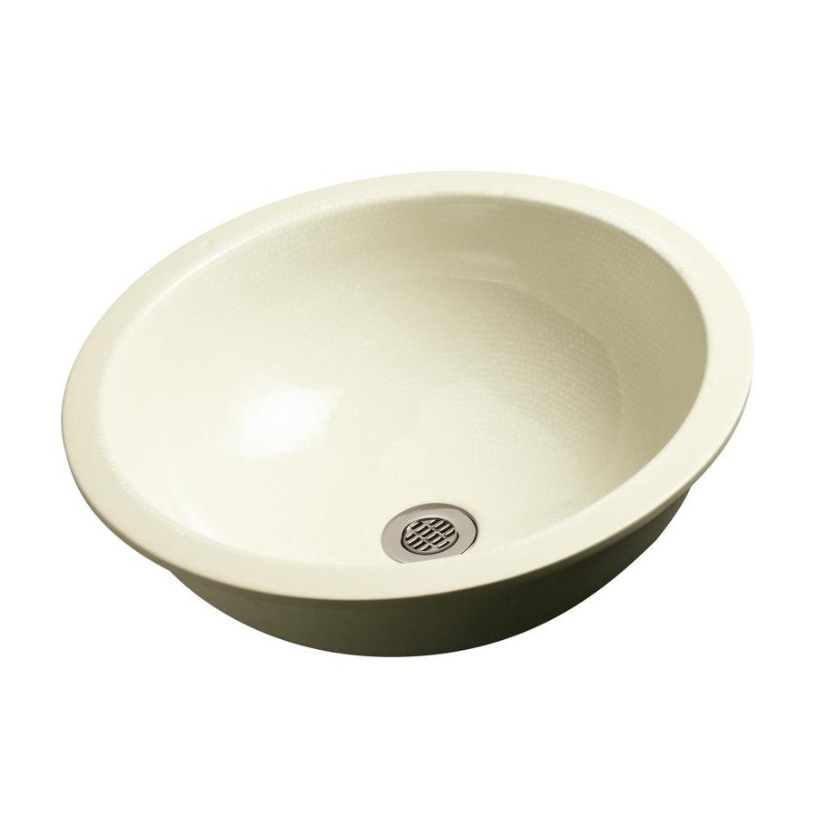 KOHLER Artist Edition Camber Boucle Muslin Undermount Round Bathroom ...