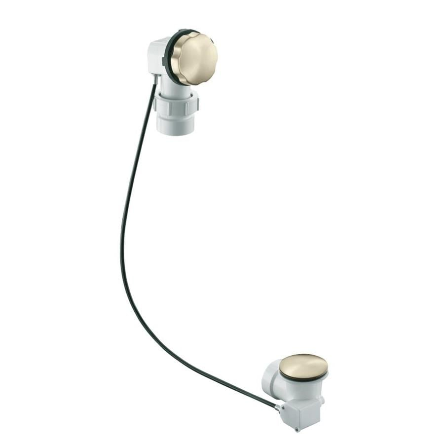 KOHLER 1-1/2-in Vibrant Brushed Nickel Cable Drive
