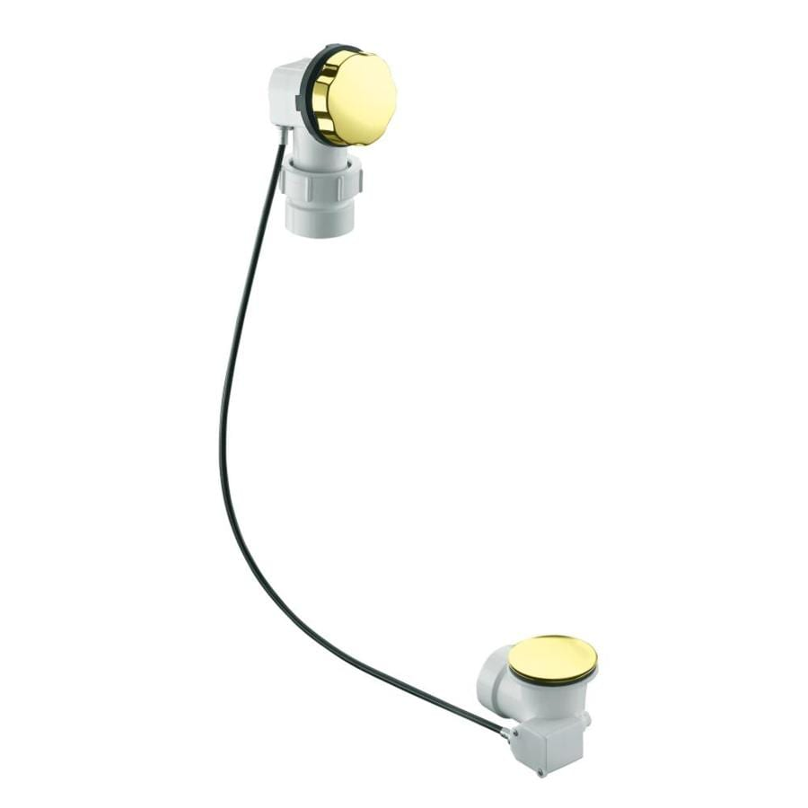 KOHLER 1-1/2-in Vibrant French Gold Cable Drive