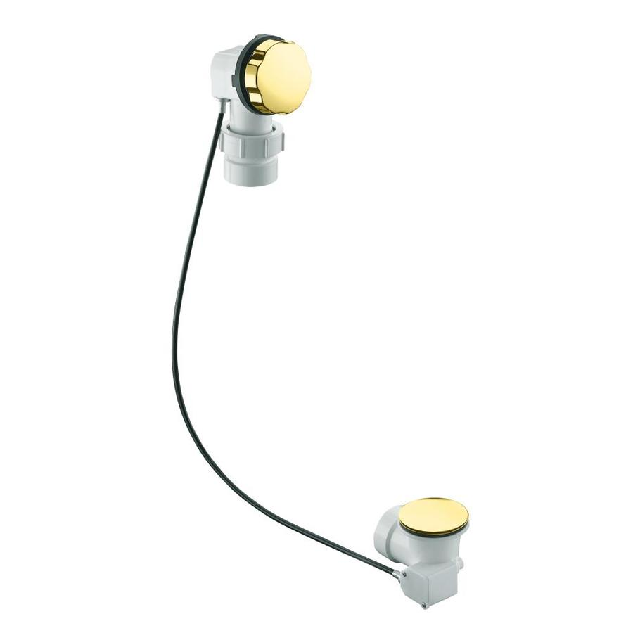 KOHLER 1-1/2-in Vibrant Polished Brass Cable Drive with PVC Pipe